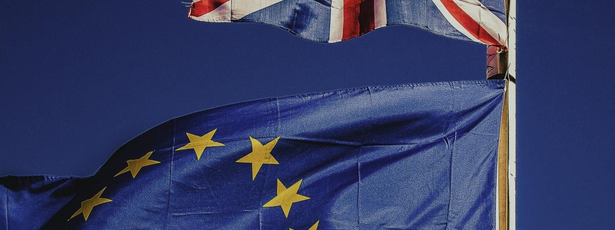 brexit vlaggen vk europa