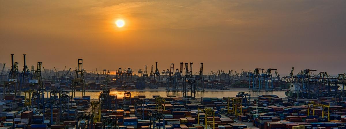 haven -containers vrachtwagens