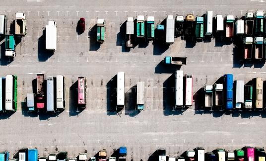 vrachtwagens – bovenaf (2)